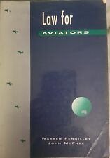 Law for Aviators by Warren Pengilley (Out of Print) (Paperback, 1994)