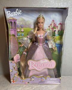 2001 Barbie As Rapunzel Musical Hairbrush Hair Magically Grows Mattel Doll 55532