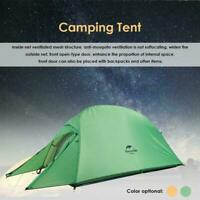 Naturehike Cloud Up 1 Person Camping Outdoor Folding Dual Layer Tent Waterproof