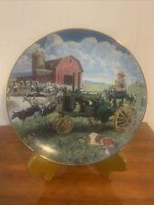 Days of Splendor Farmland Memories by Mort Kunstler John Deere Tractor Plate