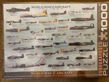 World War 2 Aircraft 100 pc Mini Puzzle