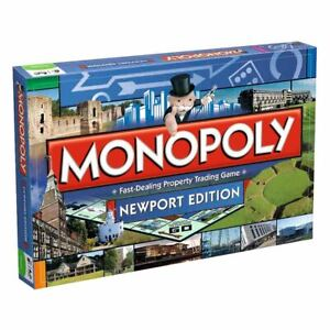 Winning Moves Monopoly Newport Edition Board Game