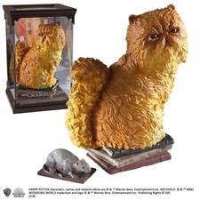 Harry Potter Magical Creatures Crookshanks Cat Figurine Noble Collection NN7680