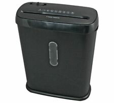Paper Shredder 5 Sheets 10 Litre bin Strip Cut A4 Automatic