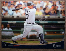 Detroit Tigers 24x18 2010 Poster Meijer MAGGLIO ORDONEZ 30 Always A Tiger MAGGS