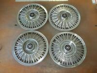 """Aries Reliant Le Baron 600 Hubcap Rim Wheel Cover Hub Cap 81-85 14"""" OEM USED 438"""