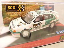 "SCX ANAOG 1999 #61240 SKODA OCTAVIA WRC ""EKIKSSON"" 1/32 SLOT CAR RALLY"