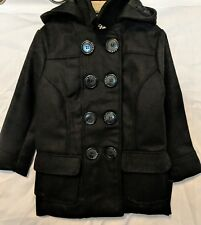 Beverly Hills Polo Club Girls L 4t Black Pea Coat