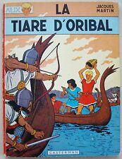 Alix La Tiare d'Oribal Jacques MARTIN éd Casterman 1966 3 titres parus