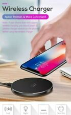 UCABLE Qi 10w Fast Universal Wireless Mobile Phone Smart Charging Pad