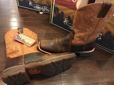 Durango Lady Rebel Ramped Up Leather Cowgirl Western Boots DWRD034 Women's 9.5 M