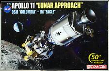 "1969 Apollo 11 ""Lunar Approach"" CSM Columbia & LM Eagle 1:72 Dragon 11001"