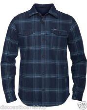 Hurley Pivot Dark Obsidian Fleece Woven Long Sleeve Button Down Men's Shirt XL