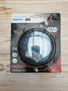 Philips Star Wars LED On Auto Off Night Light, Battery Operated, Free Post