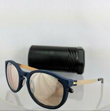 Brand New ic!berlin  Sunglasse craquante Caramel Brown For Women