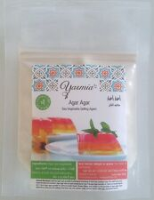 Agar Agar Powder 50g Vegan Vegetarian Gelatin Halal Gelatine Kosher Jelly 2020