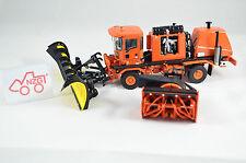 TWH TS0721056 Oshkosh H-Series Schneeräumer + Fräße orange 1:50