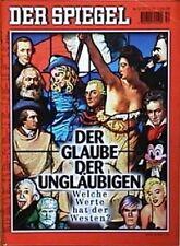 SPIEGEL 52/2001 Die politischen Werte der westlichen Welt