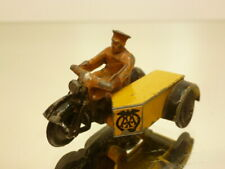 DINKY TOYS 270 MOTORCYCLE AA PATROL - YELLOW 1:43? - GOOD CONDITION