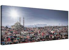 Süleymaniye Mosque - Modern Islamic Canvas Art Prints - 120cm Wide