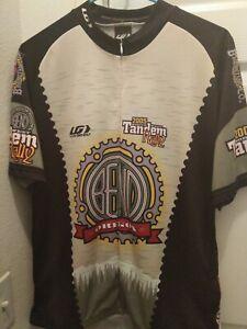 Louis Garneau Men's Cycling Jersey Tandem Rally Oregon Size XXL Multicolored