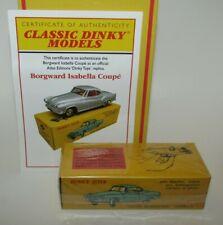 Atlas Dinky Replica No 549 Borgward Isabella Coupe  - Sealed & COA