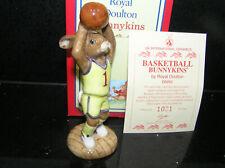 ROYAL DOULTON BASKETBALL BUNNYKINS DB262 UKI LIMITED EDITION BOXED WITH CERT