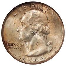 1946-D/S 25c Ngc Ms-66 Omm-1 Breen-4336 ~ High Grade Washington Quarter Variety