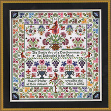 10% Off Gentle Art/Long Dog Samplers Counted X-stitch chart - Cardinal Points