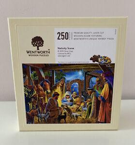 WENTWORTH WHIMSY CHRISTMAS NATIVITY SCENE JIGSAW (894001) - 250 PIECES