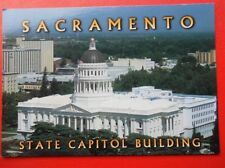 POSTCARD USA CALIFORNIA SACRAMENTO STATE CAPITOL BUILDING
