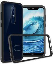 For Nokia 5.1 Plus Case TPU Bumper Hybrid Slim Fit Hard Back Phone Cover