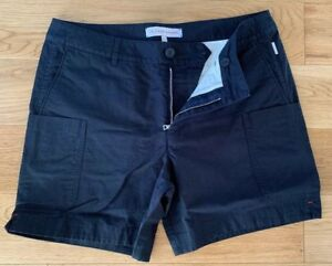 """Orlebar Brown Shorts Navy Smart Cotton Blend Cargo Style Casual Day Shorts 32""""W"""