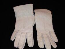 Vintage Van Raalte Ladies Kid Gloves Winter White 1 Size Fits All