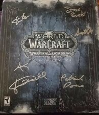 Blizzard World Of Warcraft Lich King Collector's Edition KEY UNUSED Dev Signed