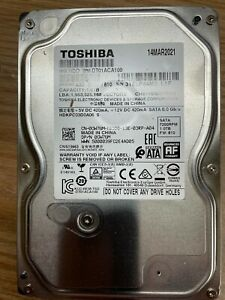 "Toshiba Desktop 1TB(1Terabyte) 3.5"" Hard Disk Drive 7200RPM SATA 6.0 Gb/s"
