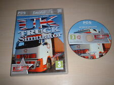 Simulador de camión Reino Unido Extra Play ~ PC JUEGO PC CD-ROM de Windows XP/Vista/7