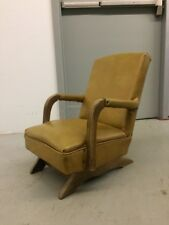 Vintage Upholstered 1940s 1950s Childu0027s Rocking Chair Rocker Kids