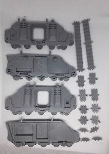 Warhammer 40k Space Marine Rhino Predator Whirlwind Vindicator tracks
