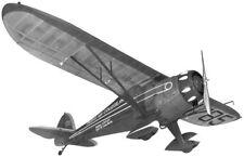 Monocoupe #FF25 SIG Balsa Wood Model Airplane Kit Rubber Powered