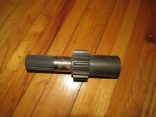 Skid Steer Loader Pinion Input Shaft Compatible With Hydra Mac 20c 2300 092