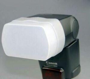 Bounce Flash Diffuser for Canon 580EX II Godox V850 V860 Yongnuo YN-560 II YN565