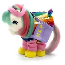 ⭐️ My Little Pony ⭐️ G1 Pony Wear Set Flashprance (Outfit Only)!