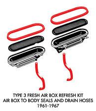 New VW Type 3 Fresh Air Box Refresh Kit 1961-1967