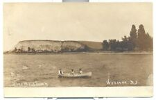 RPPC Webster NY Unused circa 1908 Postcard Nine Mile Point Lake Ontario Boating