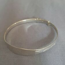 Children Baby Kids 925 Sterling Silver Jewellery Ajustable Bracelet Bangle Gift