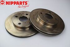 TOYOTA STARLET(P8)(P9) 12/89-10/99 NIPPARTS NEW FRONT BRAKE DISCS J3302114