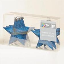 Décorations de sapin de Noël boules bleus Premier