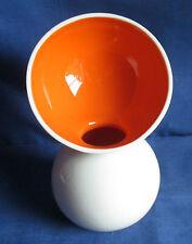 Vivo, Villeroy & Boch, Vase 15,5cm, weiß/orange Futuristisch, Porzellan