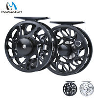 Maxcatch Fly Reel 2/3/4/5/6/7/8/9/10WT CNC Machined Aluminum Trout Fishing Reel